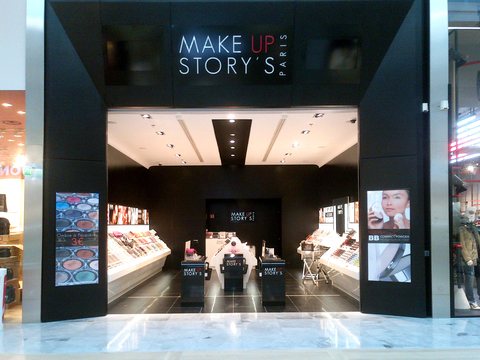 Make Up story's Retail preview